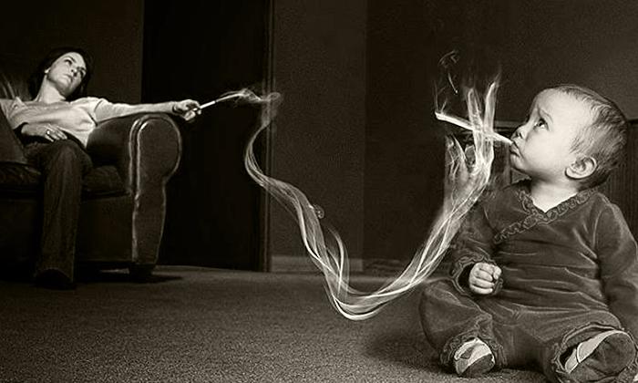 Пассивный курильщик это человек выкуривающий