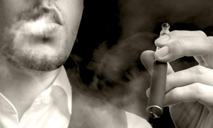 активное курение электронных сигарет