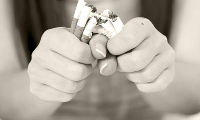 помогает ли пластырь никоретте бросить курить