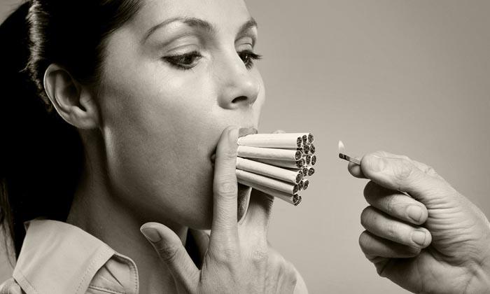 Курение расширяет сосуды