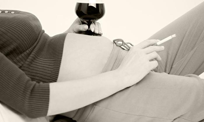 можно ли бросать курить во время беременности